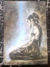 Luis Royo PRINT Fantasy Nude Art Erotic Pinup Sexy Woman Dead Moon Tattoo Gothic