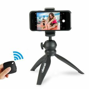 Phone Tripod Mount Clamp Kit Flexible Mini For Iphone Vlogging Live Streaming