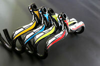 Carbon Fiber Road Mountain Bicycle Racing Drop Integrated Bar Stem Handlebar