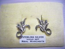 Marcasite Silver Art Deco Costume Jewellery