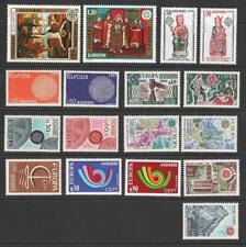 More details for andorra (fr) 1966, 67, 70, 73, 74, 75, 76, 77, 78. europa sets mnh. cat app £240