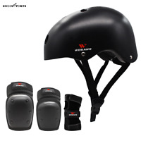 Adult Helmet and Pad Set For Cycling Skateboard BMX Bike Skate Scooter Men Women