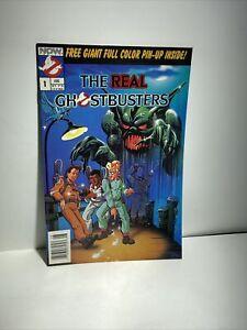 The Real Ghostbusters #1 (1988 Vol 1, NOW) Full-Color Pinup Inside NM-