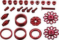 Token tk691 tuningset rojo Campagnolo div. piezas de tuning ceramic desviador roles