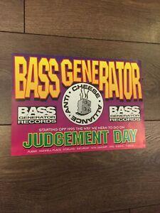 Rezerection , Judgemet Day Rave Flyer