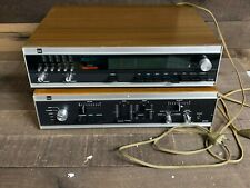 Vintage Dual Electronics Stereo Ct18 Tuner and Cv61 Equalizer