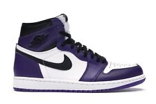 ✅ Jordan 1 Retro High Court Purple White Sneakers Scarpe Nike AJ1