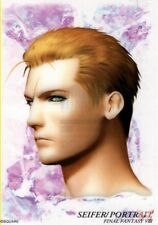 Final Fantasy 8 VIII Art Museum Trading Card 7-11 Sp Ed 1 S-09 Seifer Portrait