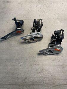 Joblot Of Shimano Front Mechs Cycling Bundle. Shimano 105, SLX, DEORE