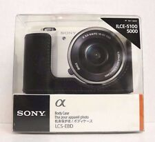 Genuine Sony LCS-EBD Black Camera Body Case for ILCE-5100, 5000