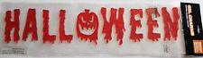 Halloween Gel Window Stick -Ons  Scary Halloween