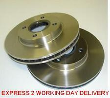 FORD FIESTA MK 6  1.4  2002-2008  TWO FRONT VENTED BRAKE DISCS LEFT HAND & RIGHT