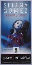 Selena Gomez Revival Tour concert 2x promo flyer poster