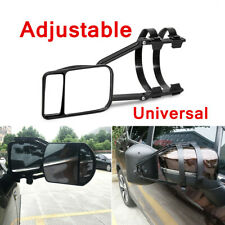 Universal Clip-On Towing Mirror For Trailer Safe Hauling Adjustable Extension