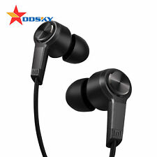 For Xiaomi Piston 3 Earphones Earbuds In Ear With Mic Remote Wire Control Black