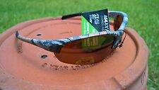 Maxx HDP Sunglasses Domain Roughrider #7 Leaf Camo Polarized TR90 brown HD lens