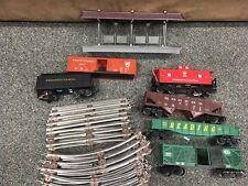Vintage Toy Train 27 Piece Lot K-Line Lionel Tracks Pennsylvania Reading Coal