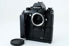 【EXC +++++ 】 Nikon F3P Press HP SLR Camera + MD-4 Motor Drive Ah-3  From JAPAN