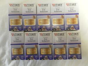 AUTH NEW ZYMOX EAR SOLUTION HYDROCOR TISONE 0.5% ANTI  ITCH OF ALL  SET 10 BOX
