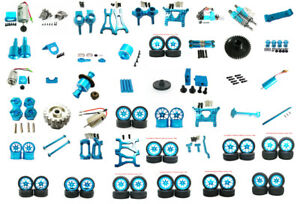 Metal Radio Tray Refit Up Parts Kit for 1/18 WLtoys A969 A979 A959 K929 Car Blue