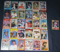 Lot of 30 DIFFERENT Hall of Fame (HOF) Baseball Cards, plus PETE ROSE!  MT/NRMT