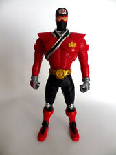 FIGURINE SENTEI BANDAI 2010  POWER RANGERS 16 cm FORCE ROUGE RED ARTICULE