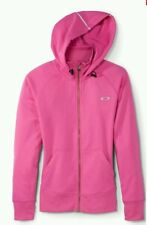 NWT OAKLEY Women Back To The Top Hooded O Hydrolix Raspberry Rose S MSRP $85