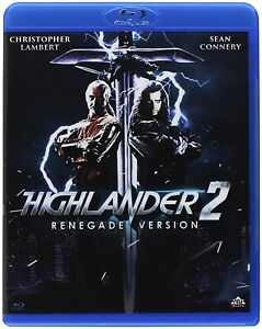 Blu Ray Highlander 2 .....NUOVO