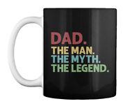 Supersoft Dad The Man Myth Legend Gift Coffee Mug Gift Coffee Mug