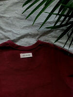 AIME LEON DORE  French Terry S/S T Shirt Size S SMALL Red/Burgundy KITH ALD
