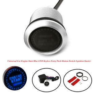 12V Car Engine Start LED Keyless Entry Push Button Switch Lgnition Starter Parts