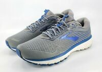Brooks Ghost 12 Athletic Running Shoes Men's Size 12.5 110326D003 Grey Blue