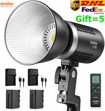 Godox ML60 60W Handheld LED Video Light CRI96+ TLCI 97+ with 2*NP-F970 Battery
