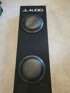 JL AUDIO 8 INCH SUBWOOFWR SYSTEM W/ TWO 8W3V3-4 SUBWOOFER DRIVERS