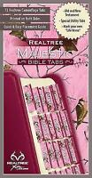 Realtree Pink Camo Bible Tabs Claire, Ellie VeryGood