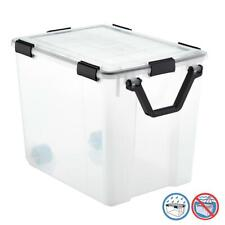 The Container Store - 103 qt. Weathertight Tote with Wheels #10067985
