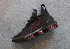 Nike Air Lebron XVI 16 Bred size 16. Black Red. AO2588-002. XV 15 james.