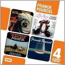 FRANCK POURCEL - COFFRET 4 CD CINEMA NEW CD