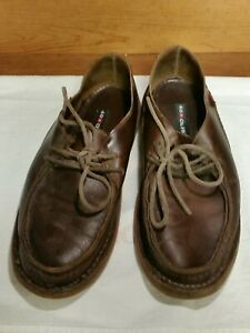 Oliberte Brown Leather tie Shoe Men's EU 40/US 7 Casual Removable insole Africa
