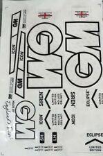 Cricket Bat Sticker  Embossed + AU Stock + Free Shipping