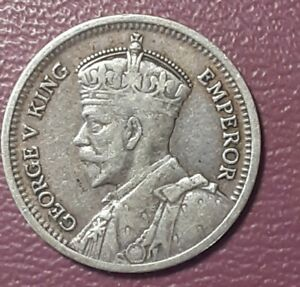**1934 NEW ZEALAND 3 PENCE ~ HUGE VALUE ~ KEY DATE ~ Rare Silver Coin