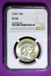 1950 NGC PF65 Franklin Half Dollar #B27569