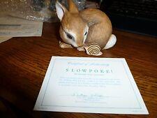 """Debbie Bell Jarratt """"Slowpoke"""" for the Franklin Mint"""