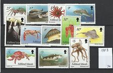 Falkland Islands @ 1993 Marine life Mnh @ GB34