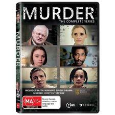 The Murder - Complete Series (DVD, 2016, 2-Disc Set) Brand New Region4
