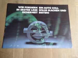 Opel Image-Broschüre  - PROSPEKT (01/1977)