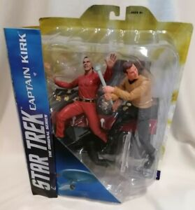 STAR TREK - *New* Original Series Captain Kirk & Kahn Figure Diamond Select 2016
