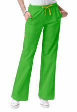 WonderWink 4-Stretch Extra-Small Tall Women's Scrub Pants Lime Green Nwt