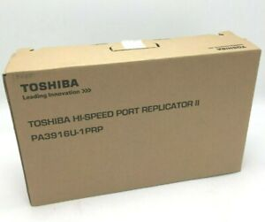Toshiba Tecra Hi-Speed Port Replicator II HDMI USB DisplayPort Dock PA3916U-1PRP