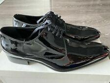 christian dior men shoes patent lace up Us 10 Eu 43